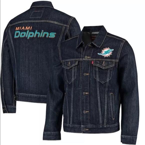 Levi's Jackets & Blazers - Levi's Miami Dolphins NFL Women's Jacket Medium